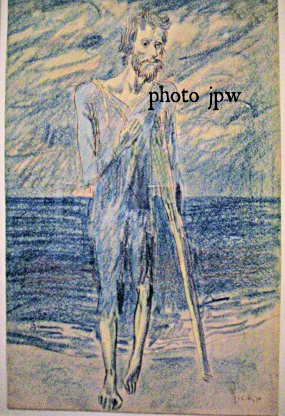 "Picasso, ""Beggar with Crutch,"" 1904."