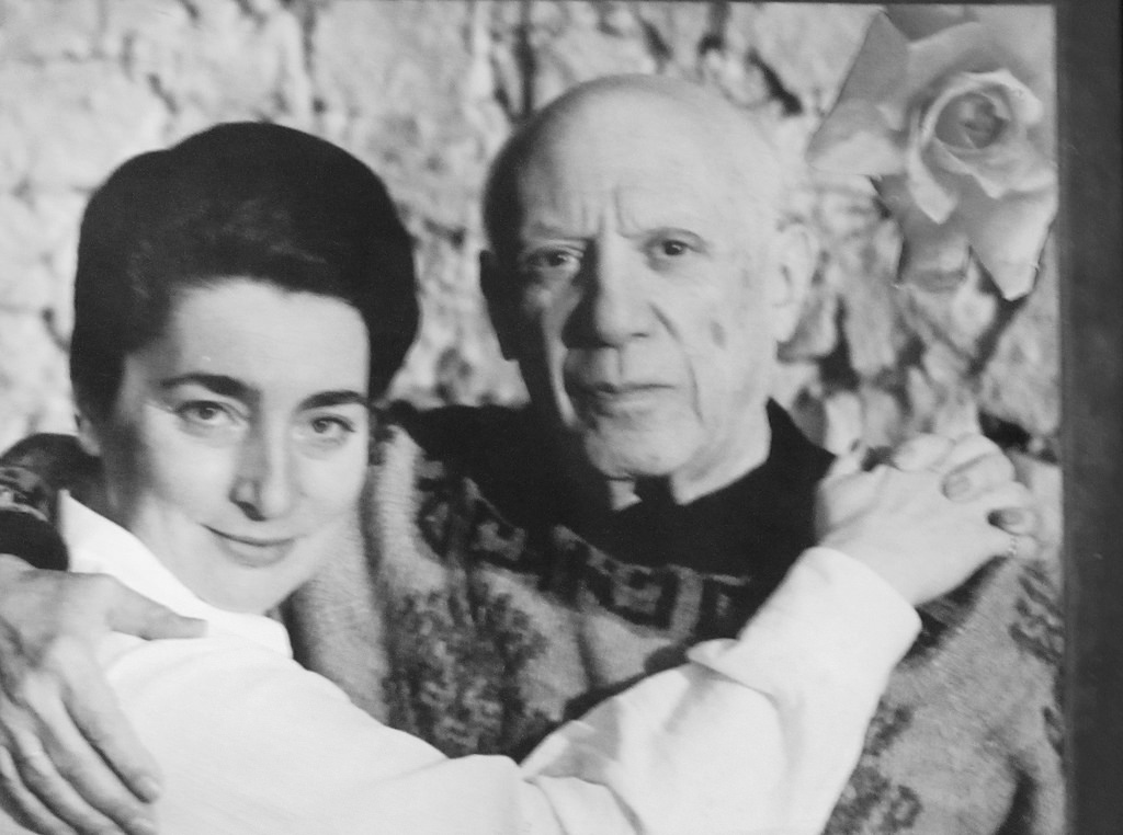 Jacqueline and Pablo Picasso.