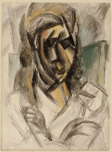 Picasso Bust of a Woman, late 1909