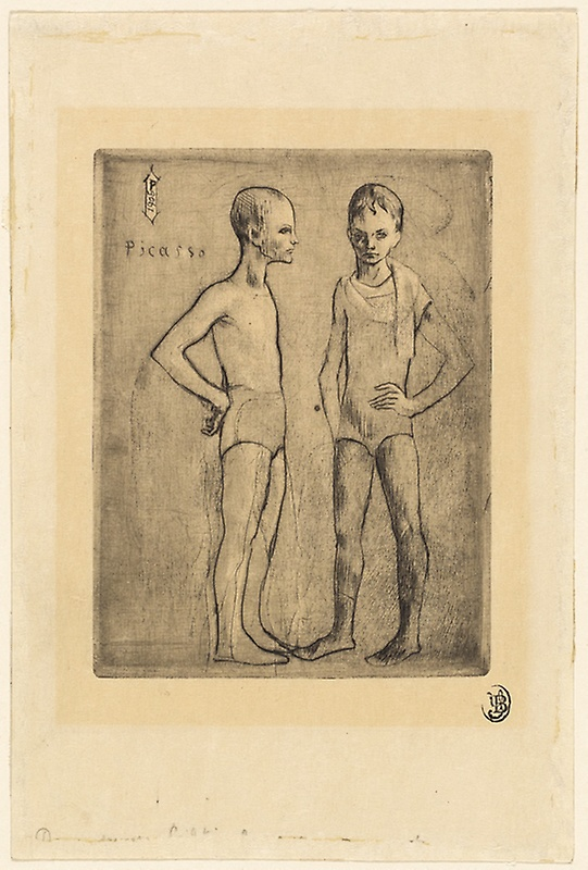 Picasso Two Saltimbanques 1905
