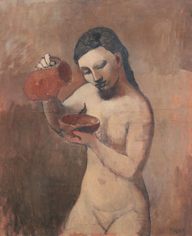 Picasso, Nude with a Pitcher, summer 1906.