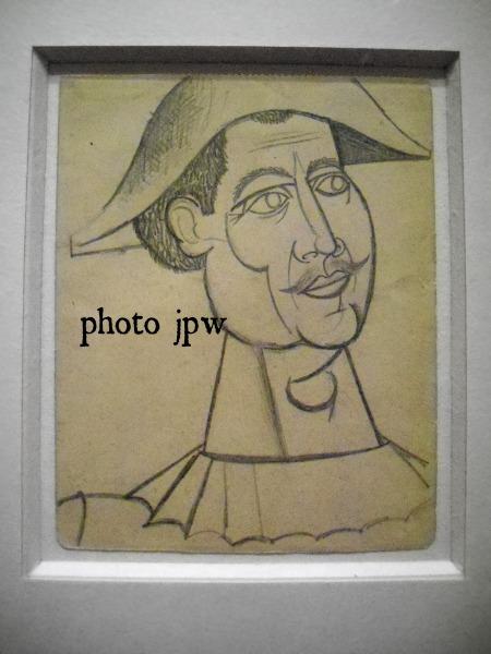 Picasso Harlequin 1916