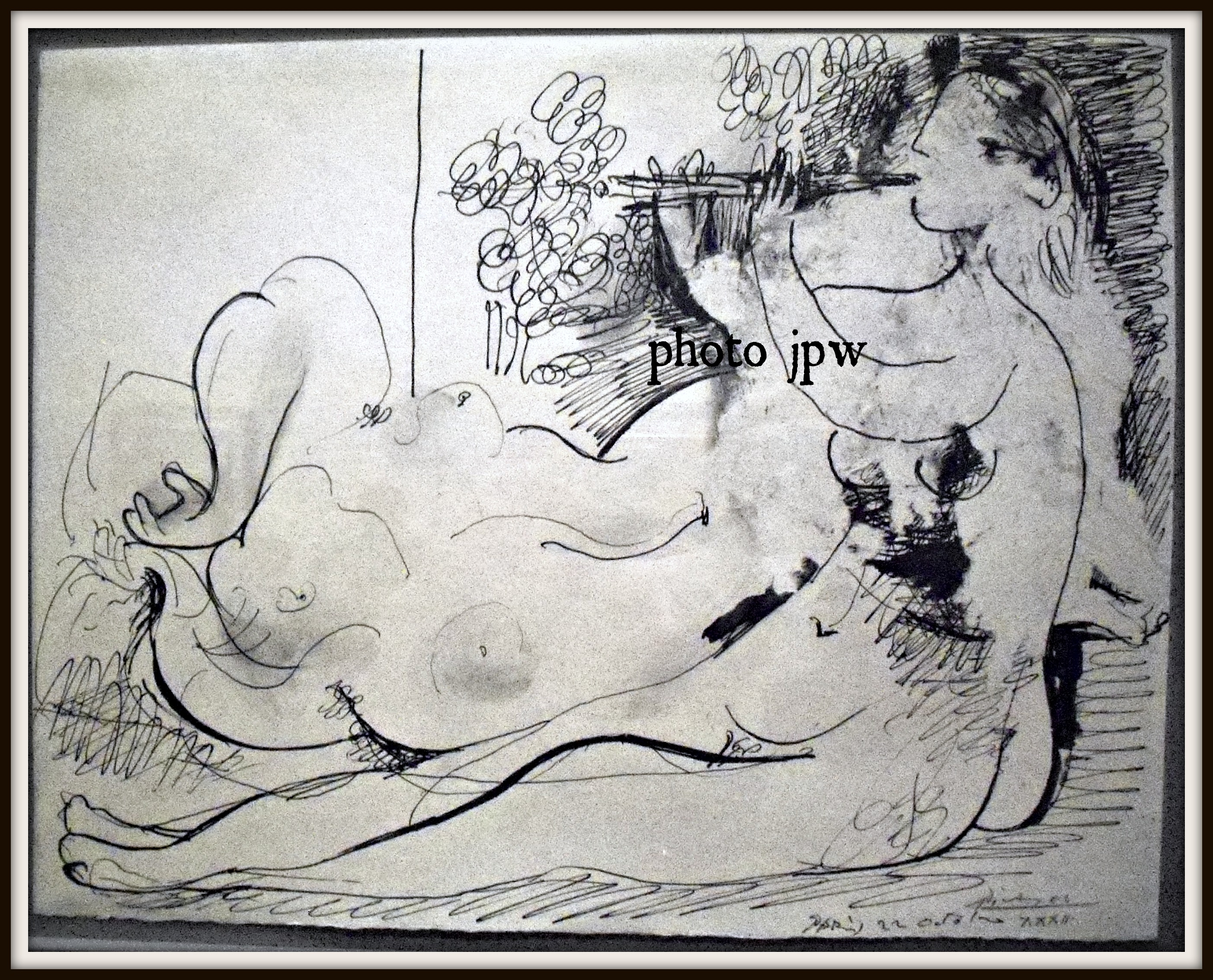 Picasso flute and nude, 1932
