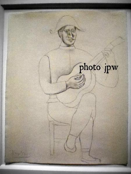 Picasso Harlequin Guitar c. 1916