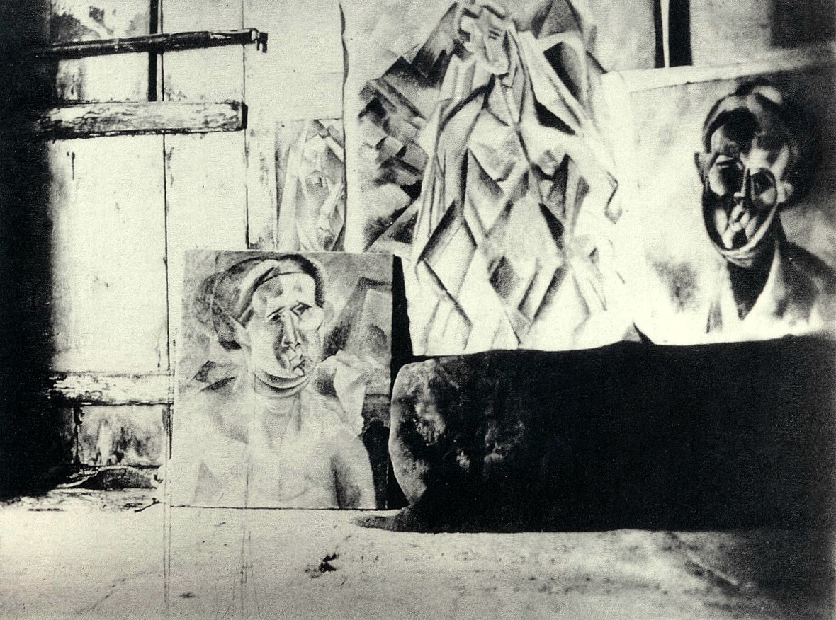 Picasso studio Horta de Ebro summer 1909.