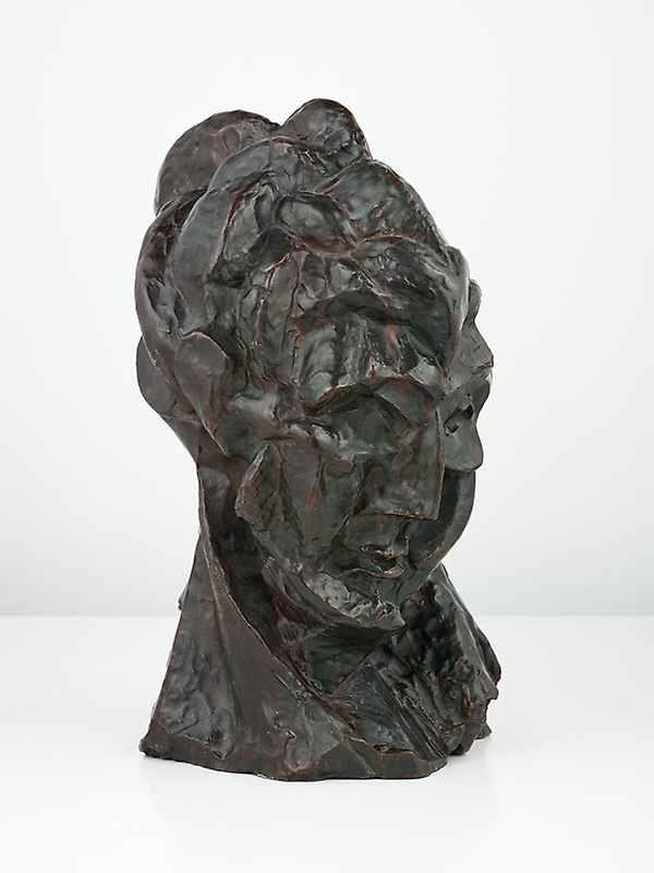 Picasso, Head of woman cast 1910
