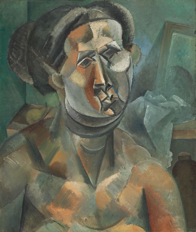Picasso, head of woman sum 1909
