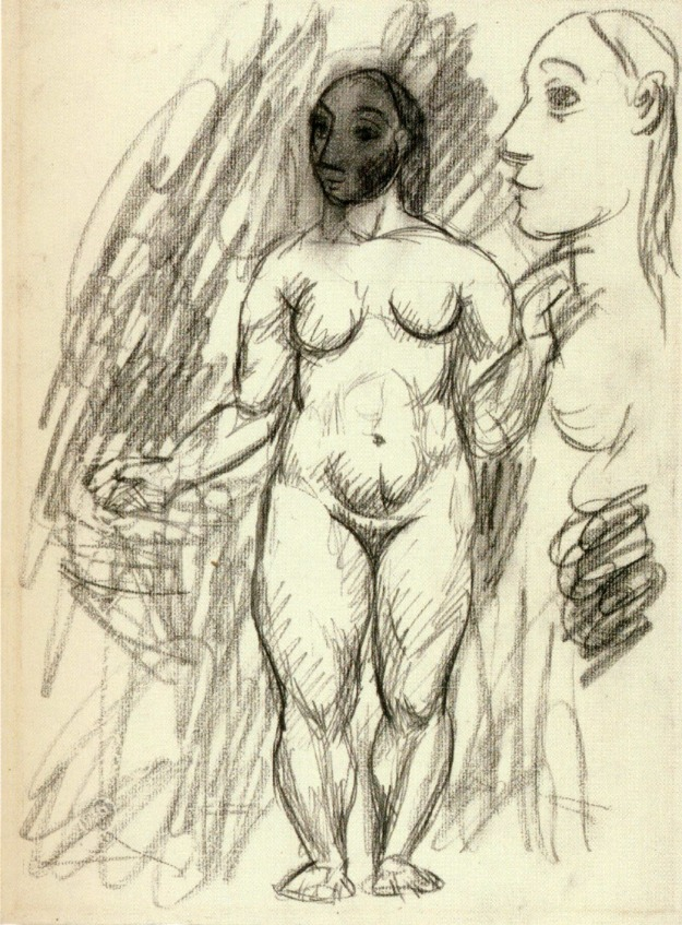 Picasso, Female Nude, 1906.
