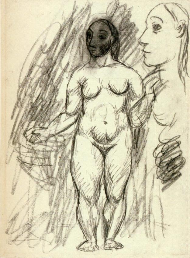 Picasso, Female Nude, 1906.
