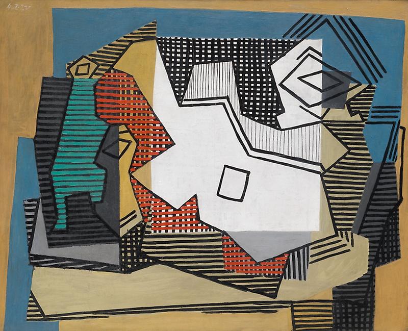 Picasso still life 1922