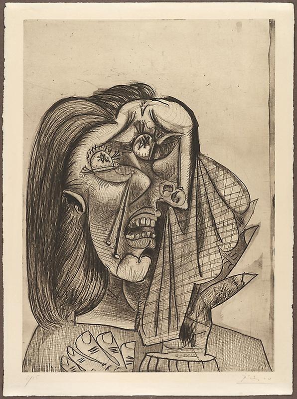 weeping woman dora maar 1937