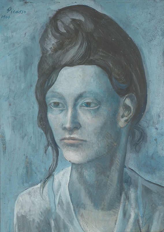 Picasso woman with her hair up 1904