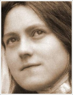 Therese as Joan of Arc