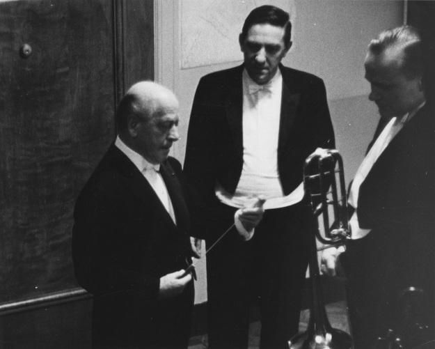 Eugene Ormandy and Orchestra Members, 1960s