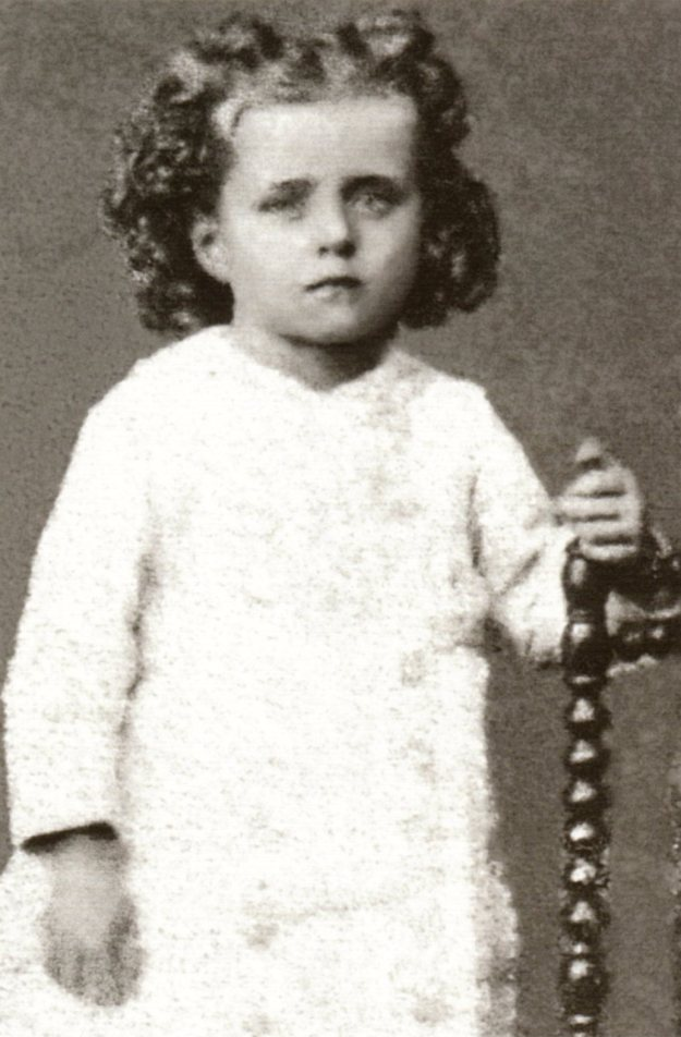 Therese at 3 years old