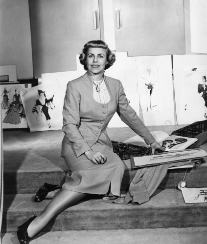 Mary Wills at Samuel Goldwyn Studio