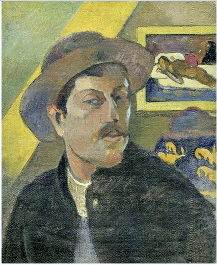 self portrait  1893-94 oil on canvas Dorsay 18x15 in 46 x 38 cm FIXED