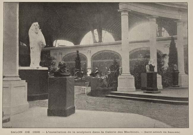 Les sculptures de Monsieur Rodin au Salon