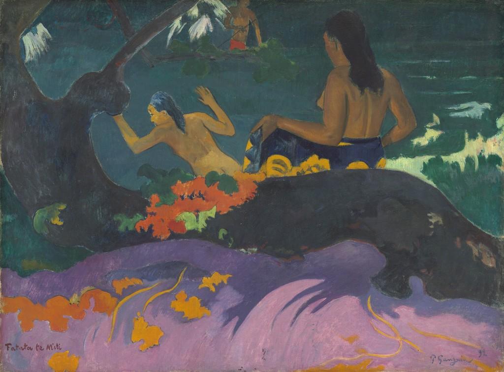 paul-gauguin-fatata-te-miti-by-the-sea-1892