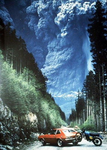 Mount st Helens May 18, 1980