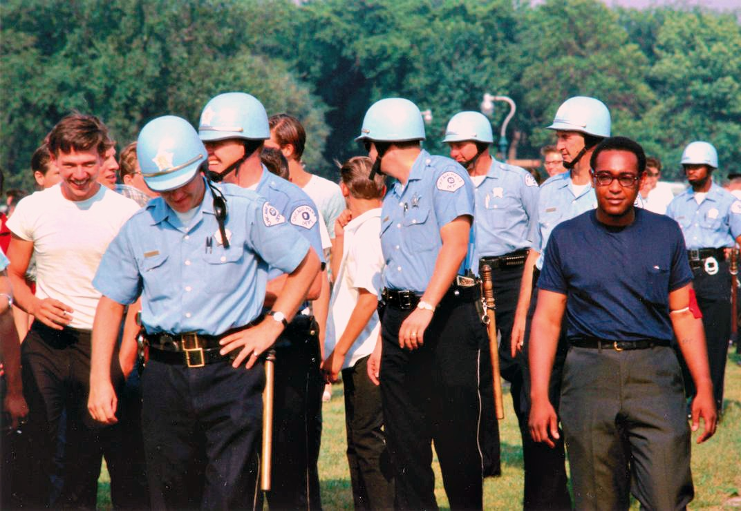 Chicago Police in Marquette Park on August 5, 1966.