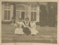 Members of the Household Staff at the Charles A. Stonehill Estate. The mansion was demolished in the 1960s.