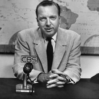 "Walter Cronkite, the ""Most Trusted Man in America,"" gives advice to today's news media on what would be his 100th birthday. (Photographs)."