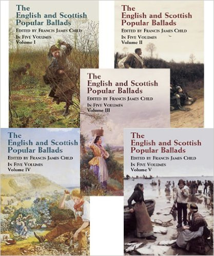 the-english-and-scottish-popular-ballads-5-volume-set