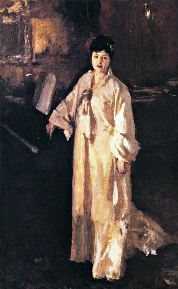 John Singer Sargent, Judith Gautier, 1883-85