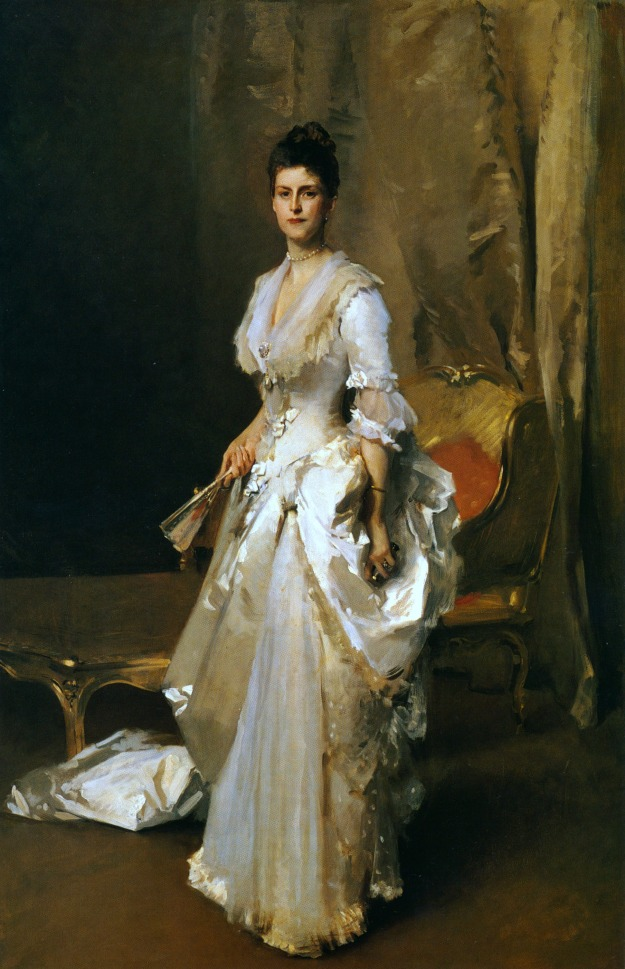 John Singer Sargent, Mrs. Henry White, 1883