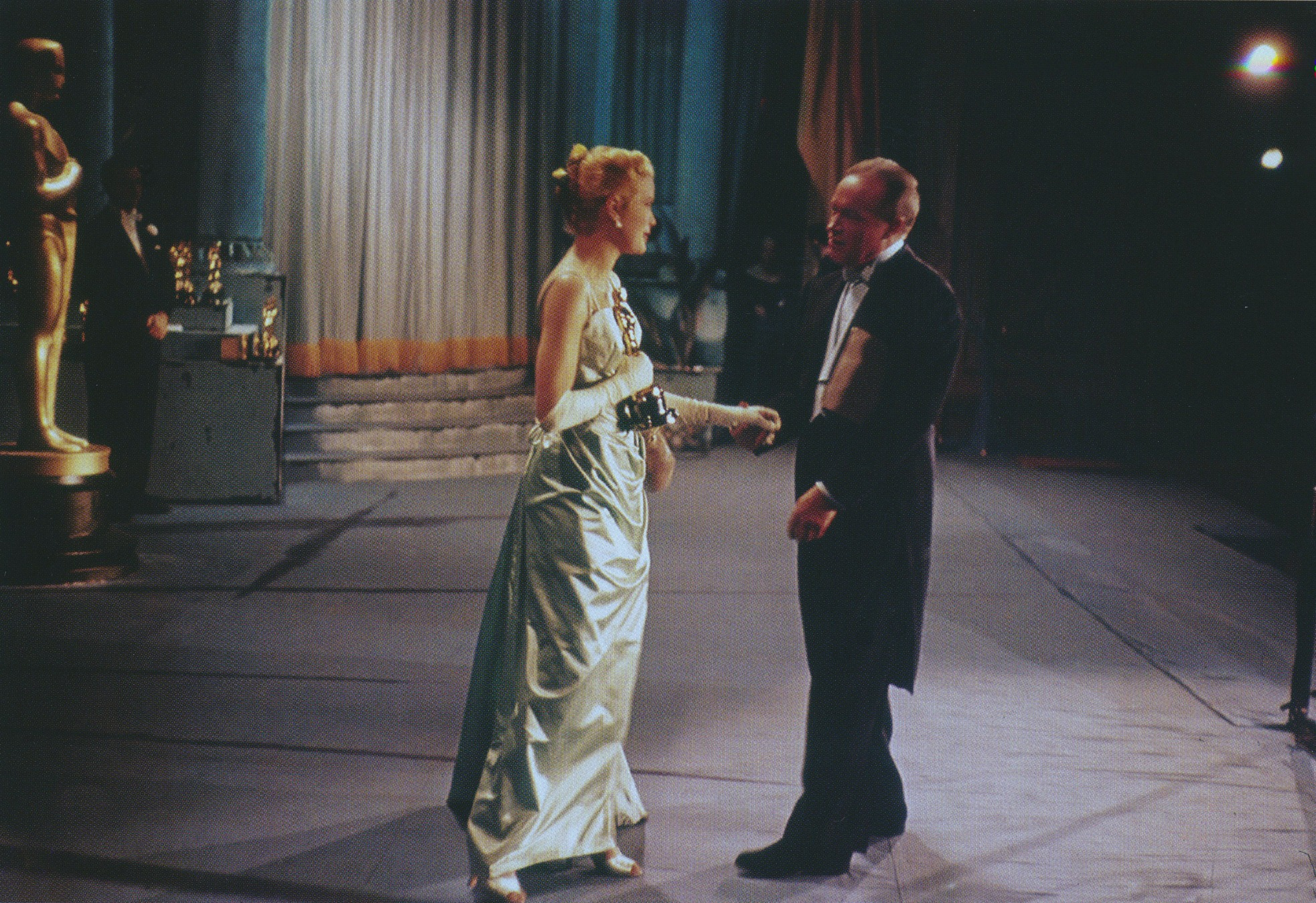 27th Annual Academy Awards Grace Kelly and Bob Hope