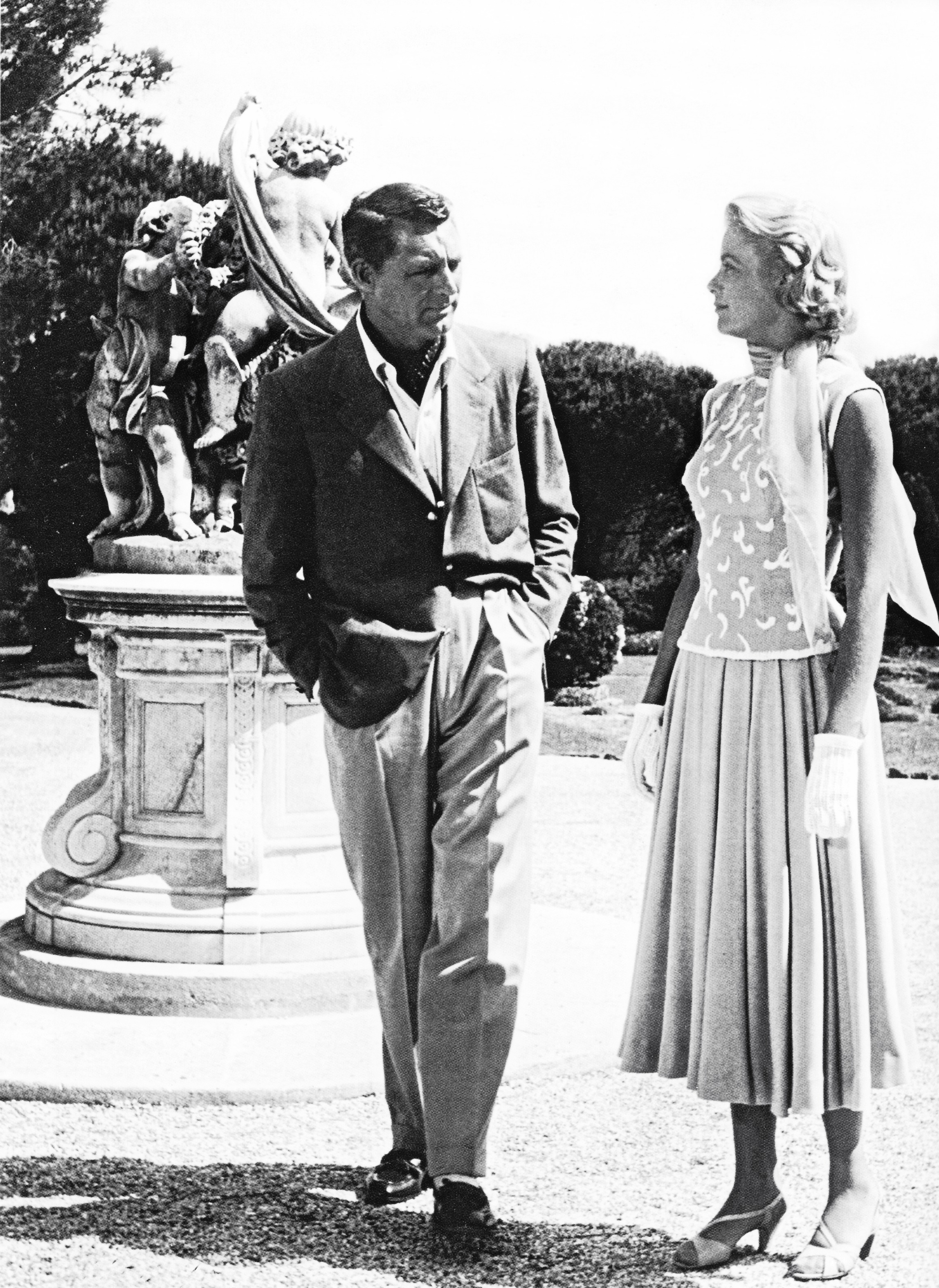 Grace Kelly and Cary Grant in To Catch a Thief.