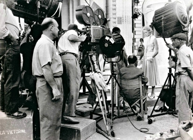 La Victorine studios 1954 Hitch directs GK on To Catch a Thief grace kelly