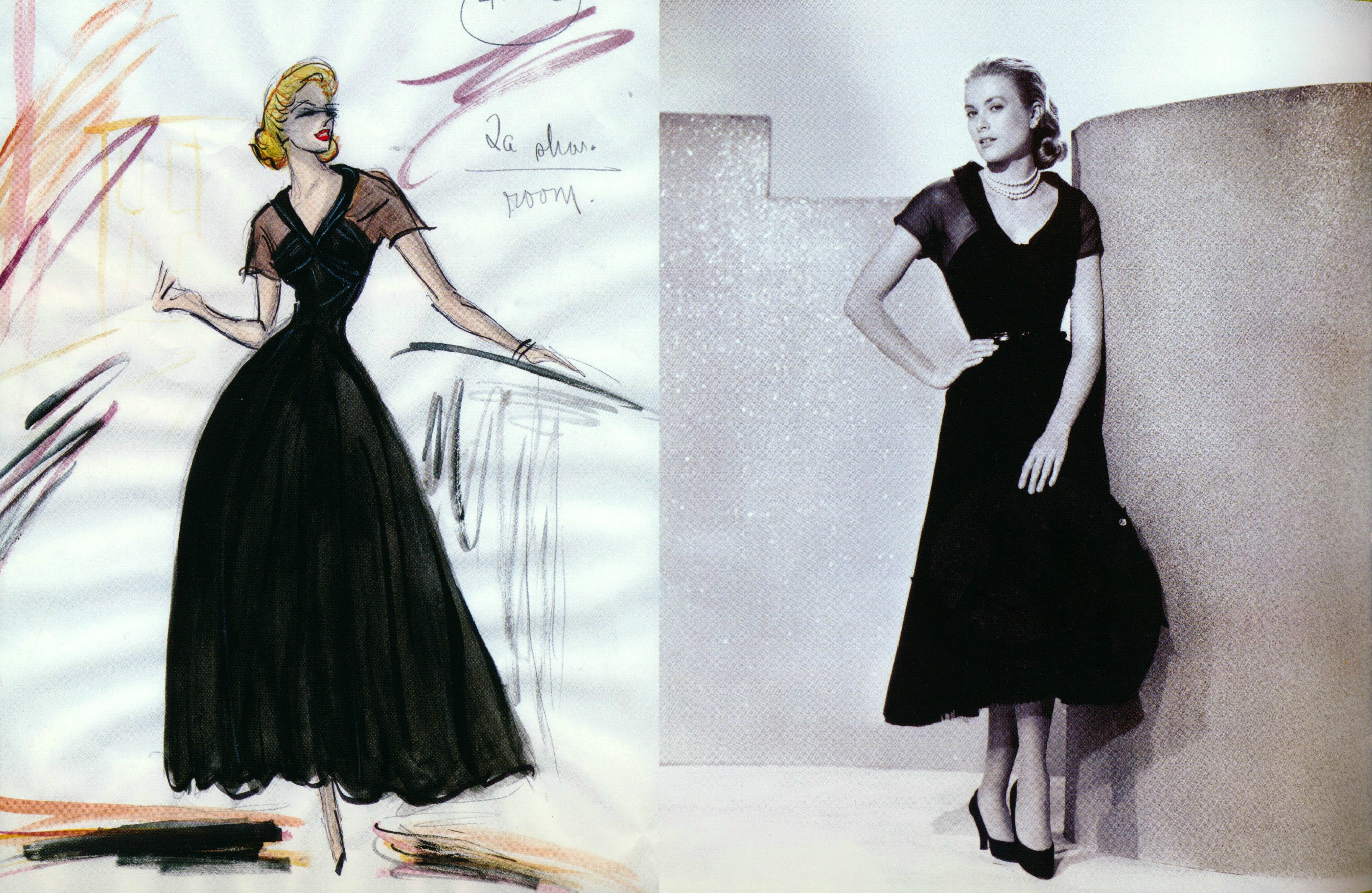 wardrobe by Edith Head for Rear Window