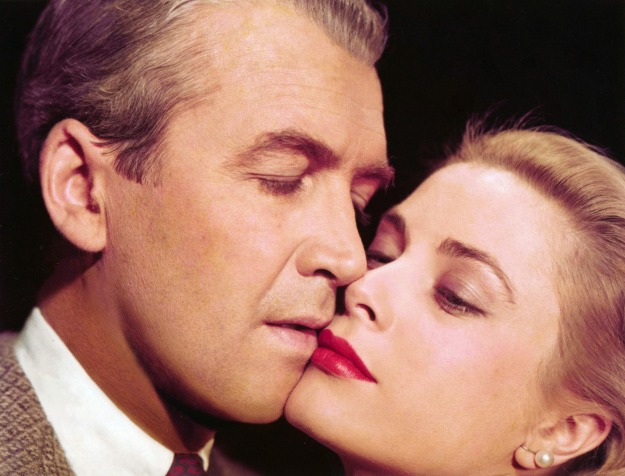 James Stewart & Grace in Rear Window
