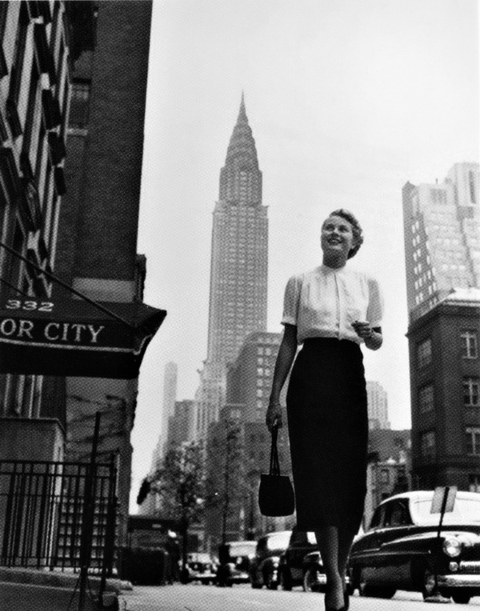 Grace in NYC late 1940s