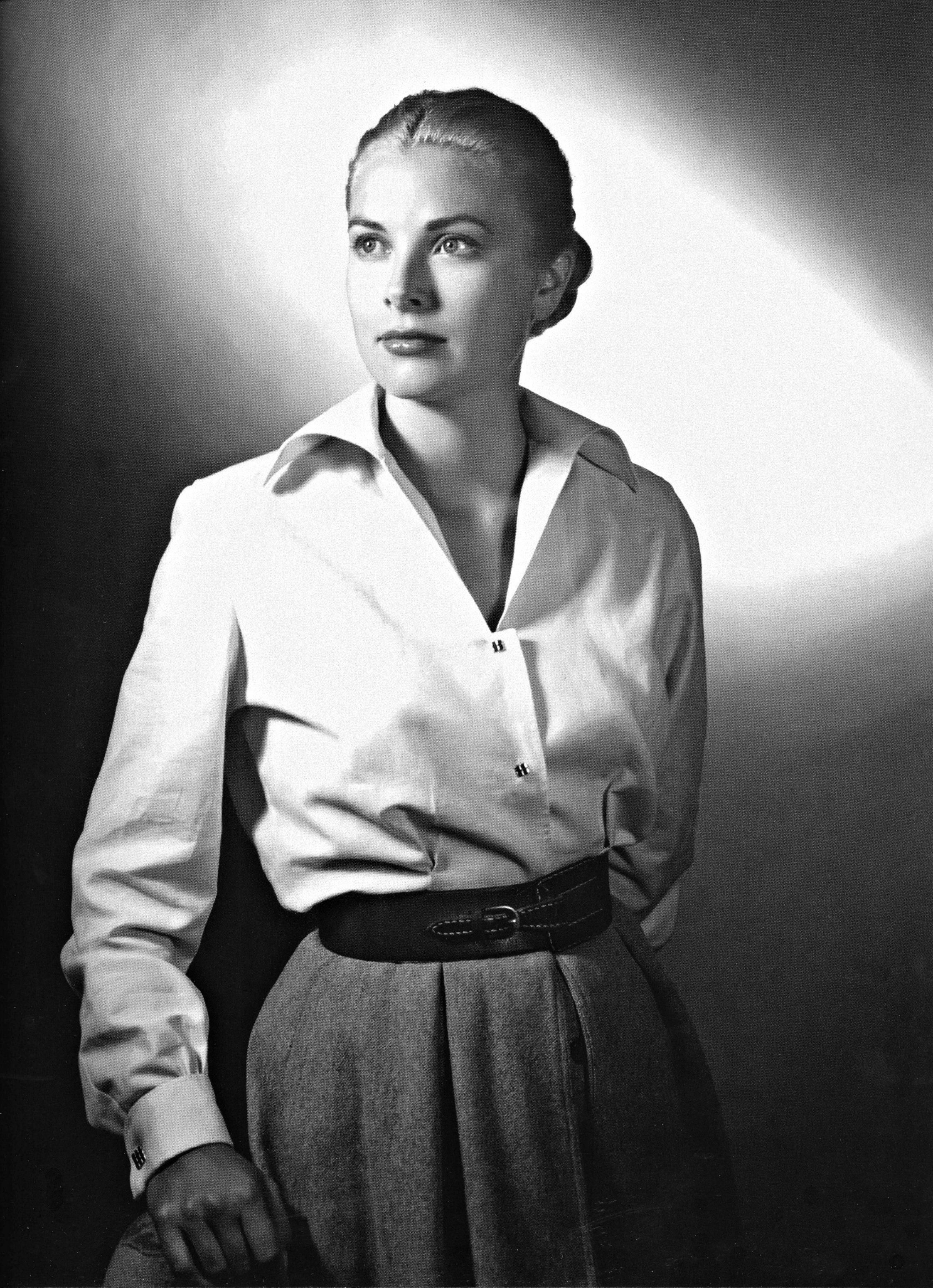 Grace Kelly in a promotional photo for High Noon (1952)