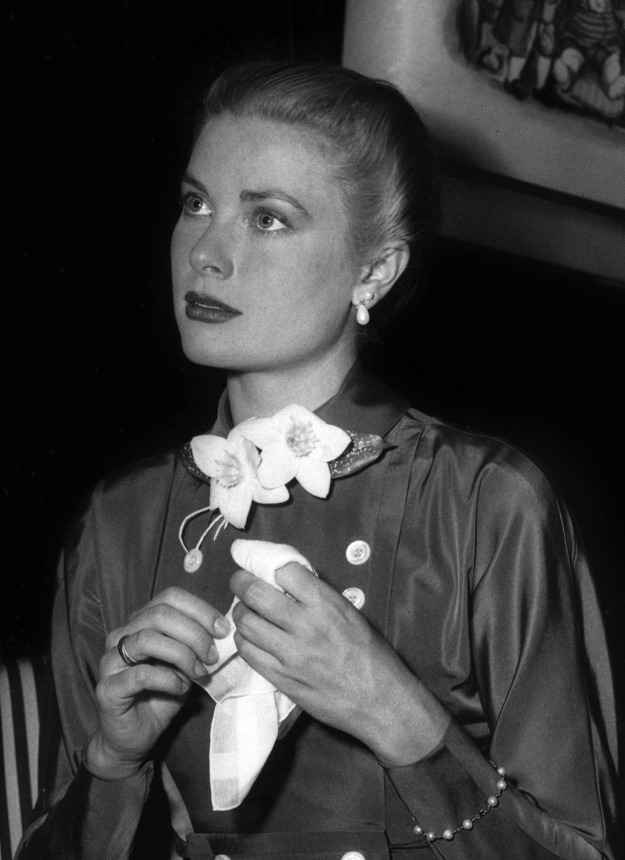 Grace Kelly in Chicago in 1956.
