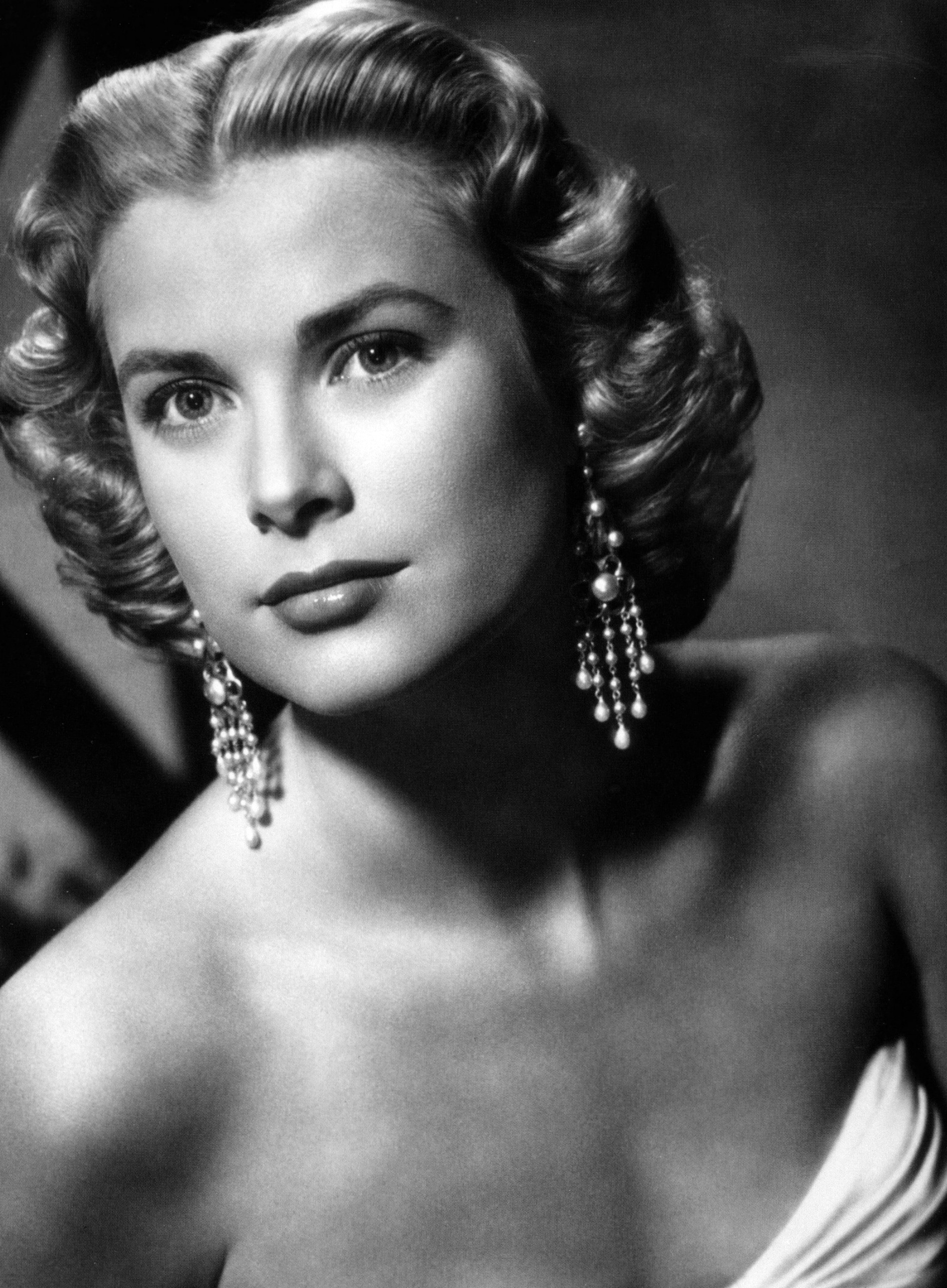 Grace Kelly in earrings by Joseff