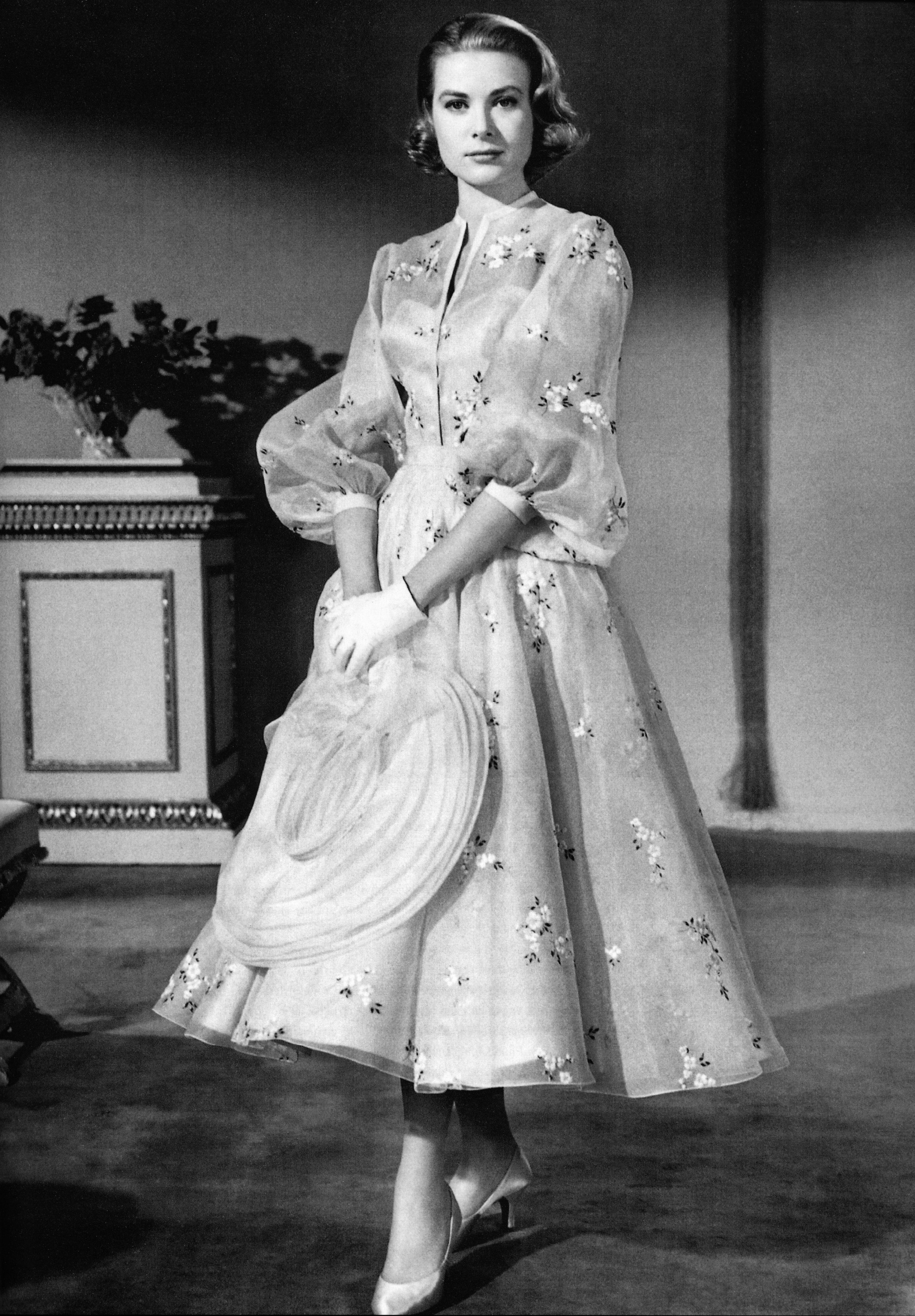 Grace Kelly January 1956 High Society