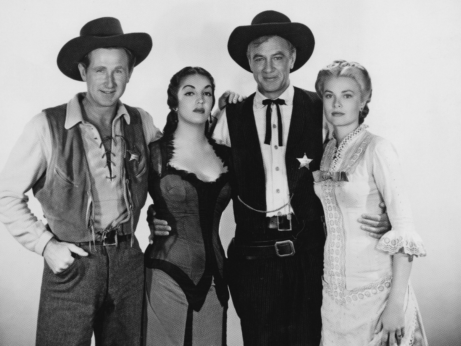 Lloyd Bridges, Katy Jurado, Gary Cooper, Grace Kelly High Noon