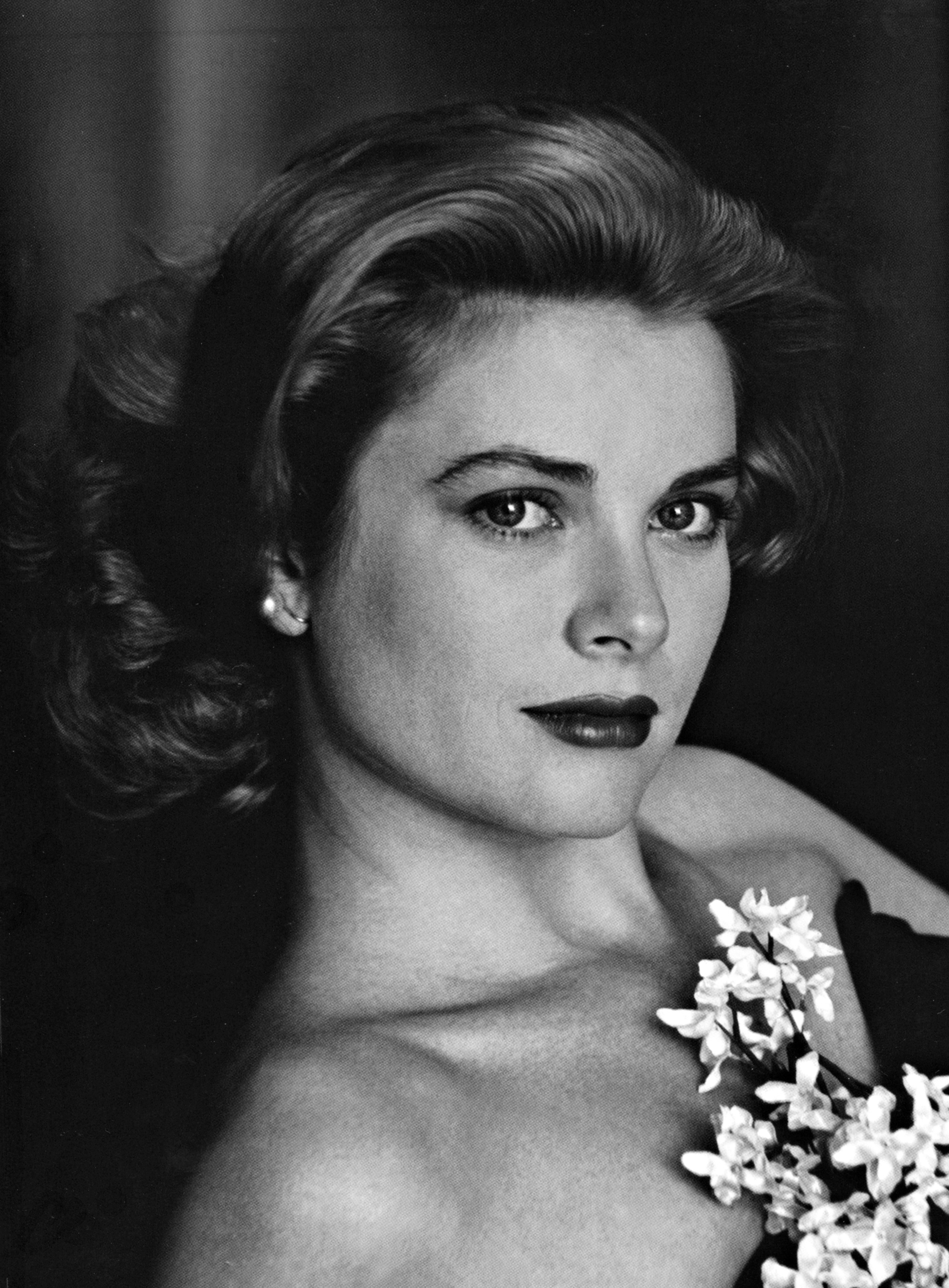 Portrait of Grace Kelly by Alfonso Sharland