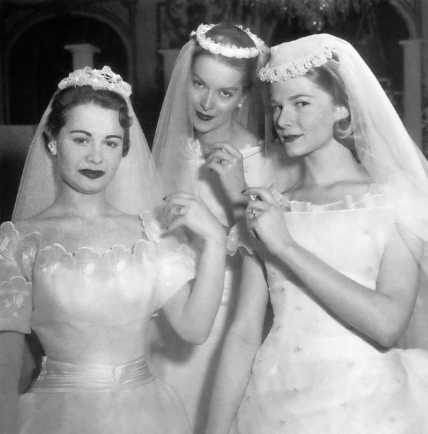 Spring 1956 bridal show in New York City
