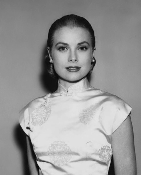 """Grace Kelly portrait from the film """"Rear Window"""" photographed by Virgil Apger, 1954."""