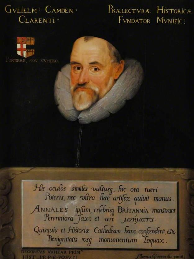 Gheeraerts the Younger Wm Camden 1609