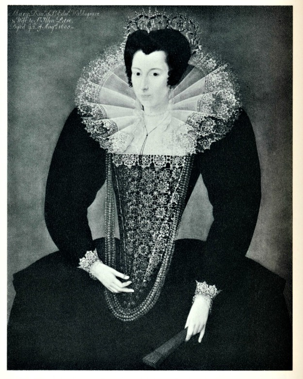 Marcus Gheeraerts the Younger, Katherine Somerset, Lady Petre, 1599.