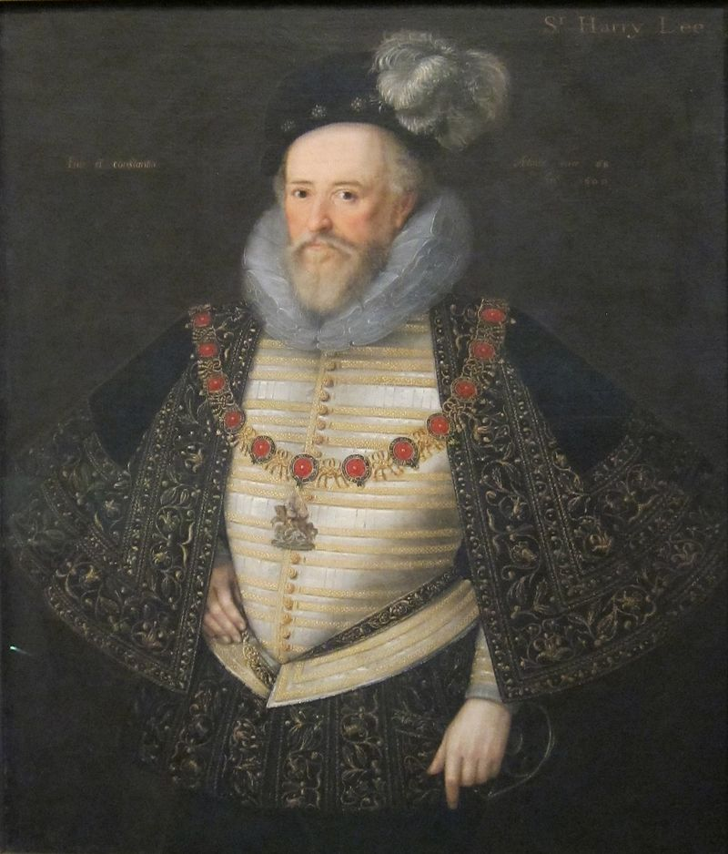 Sir Henry Lee by Marcus Gheeraerts Tate Britain, 1600