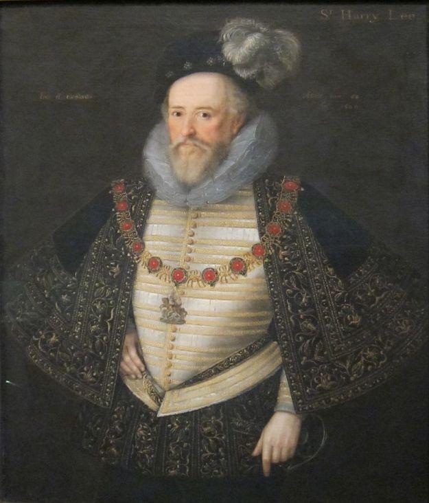 Sir Henry Lee by Marcus Gheeraerts Tate Britain, 1600