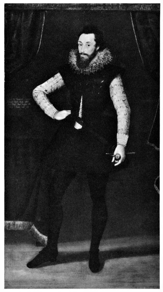 Marcus Gheeraerts the Younger, Christophe de Harlay, Comte de Beaumont, 1605.