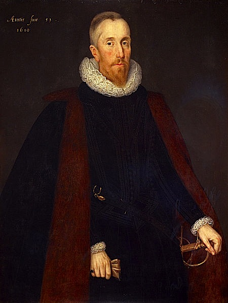 Marcus Gheeraerts the Younger, Alexander Seton 1st Earl of Dunfermline, 1606.